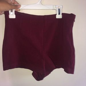 Forever 21 Maroon Shorts